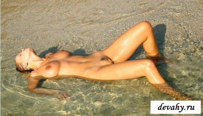 Дикий пляж для милашки