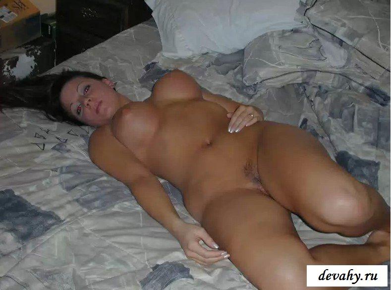 Пышное тело девушки