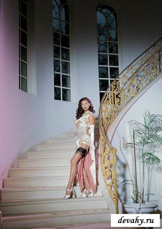 Роскошное платье тётки