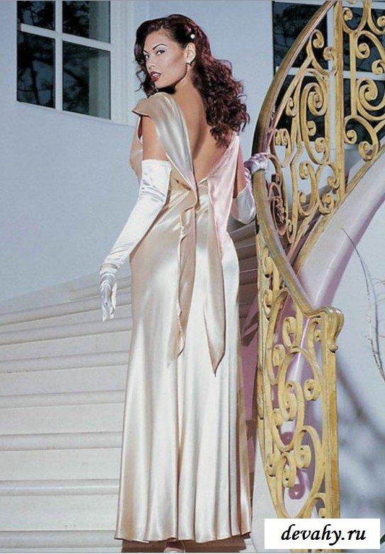 Хорошенькое платье дамочки