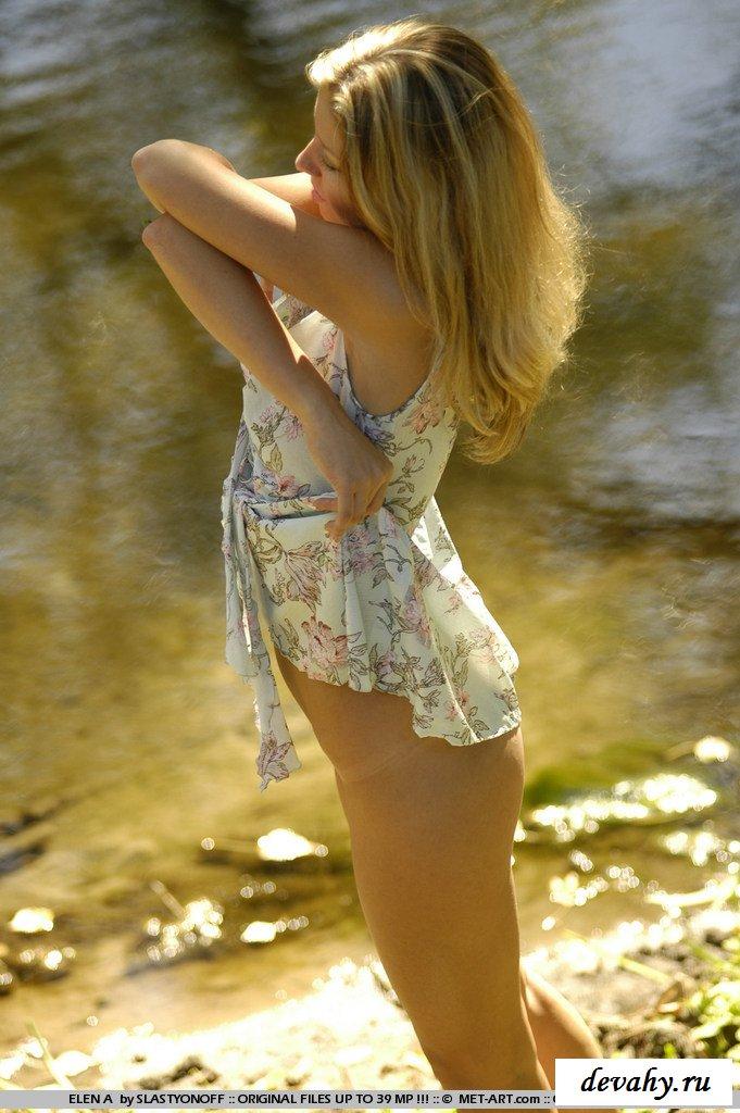 Натуральная грудь телочки