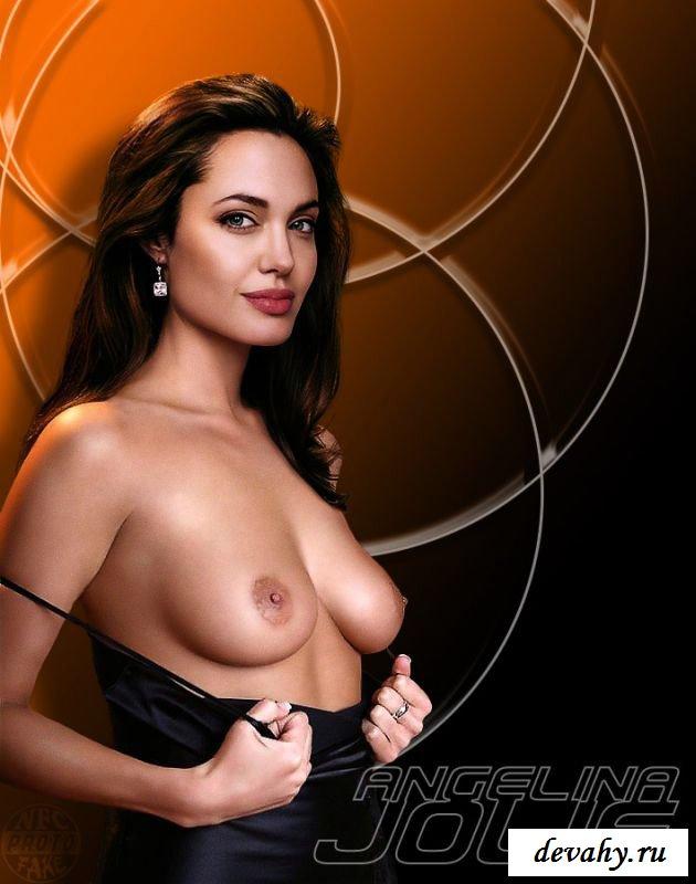 Голая Анджелина Джоли фото