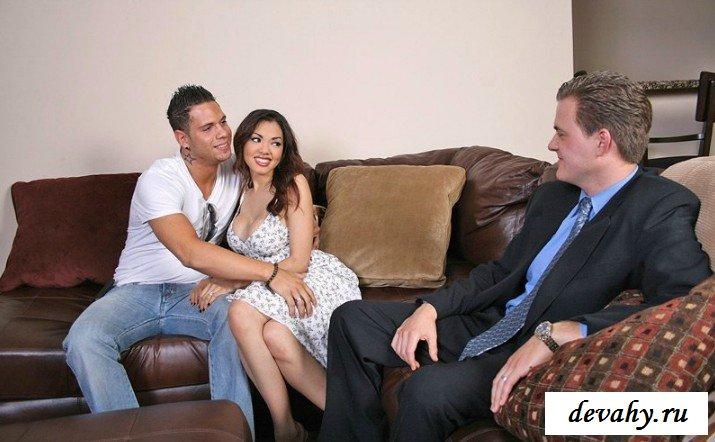 Трах с азиатской супругой