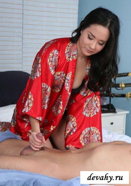 Азиатский массаж секс фото
