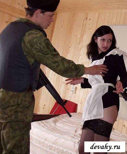 Отжарили беспомощную служанку секс фото