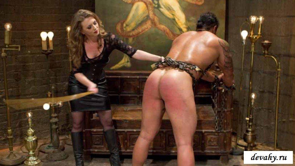 Извращенка выебала мужика в жопу на фото