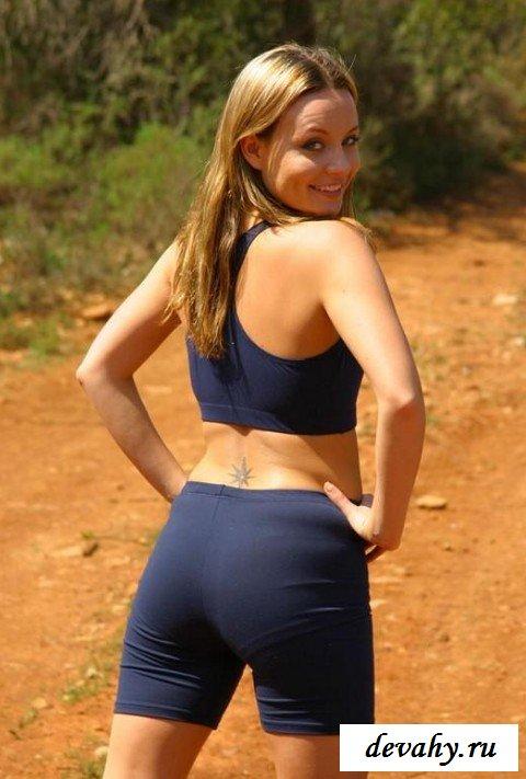 Интимная прическа спортивной девочки