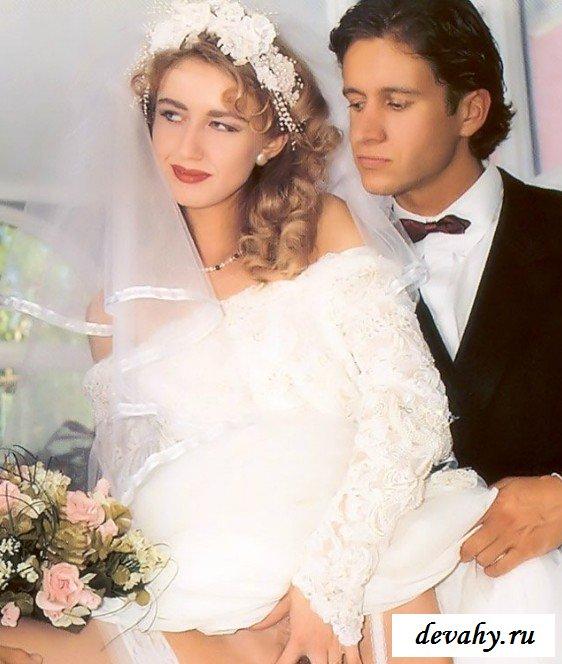 Невесту оттрахали в два хрена