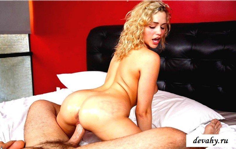Горячая ебля с блондинкой