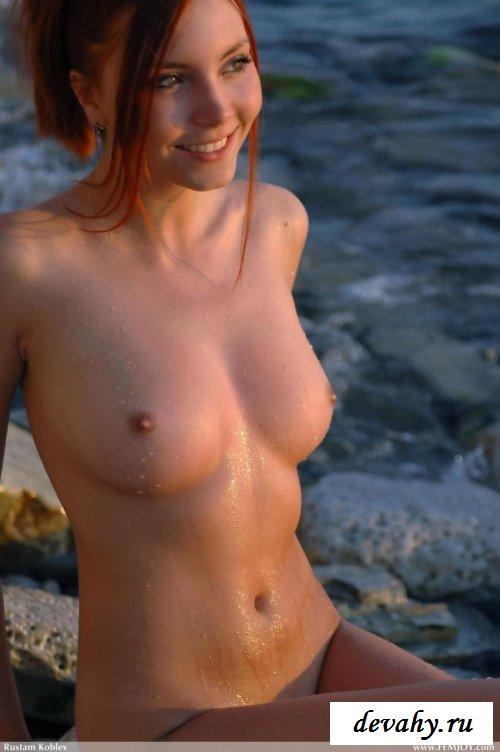 Молоденькие рыжие телочки