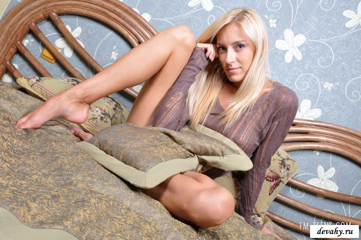 Интересная россиянка на фото сессии.
