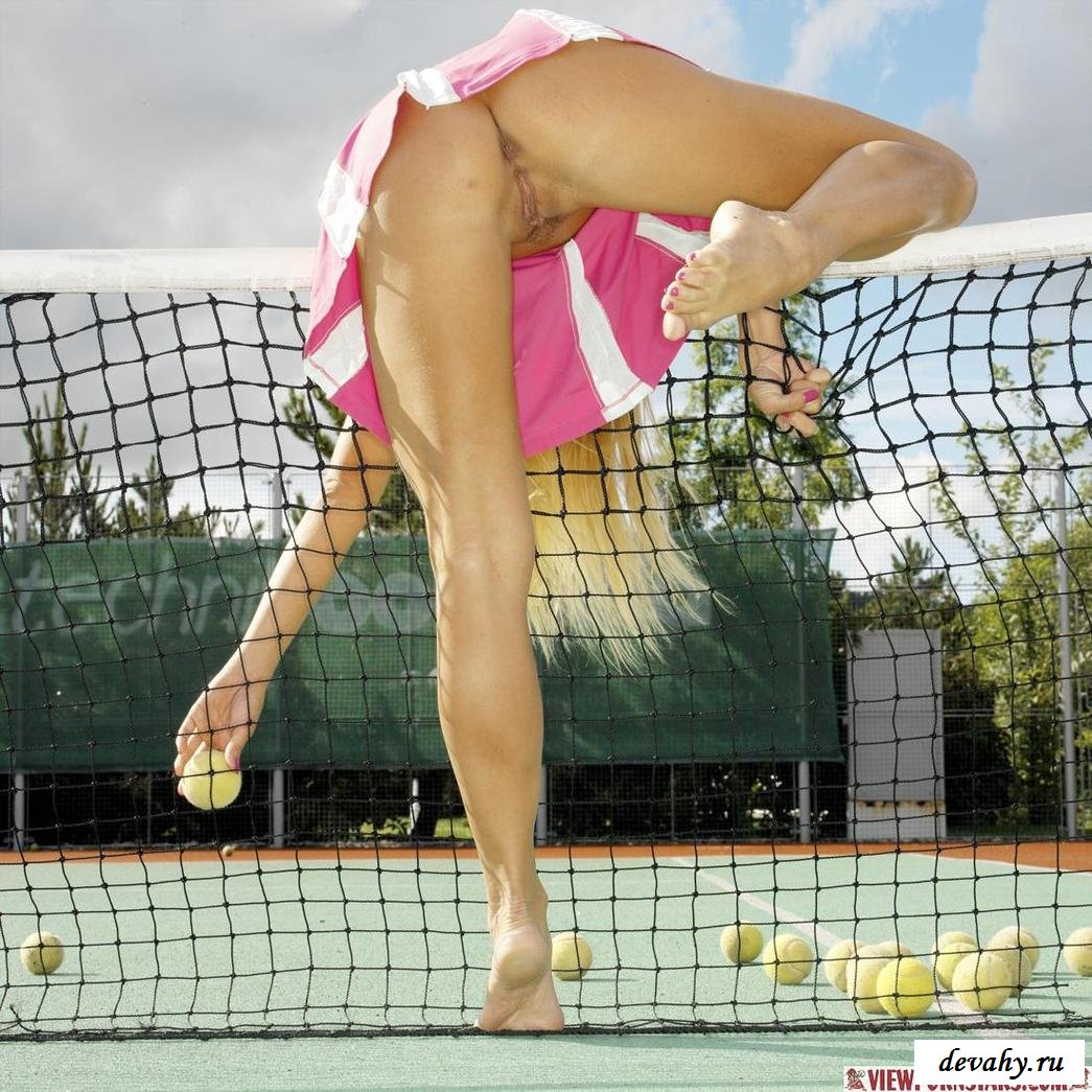 Теннисистка с стильной задницей перешла границы
