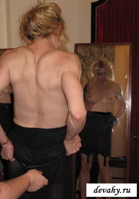 Мадонна молодая и постаревшая голая