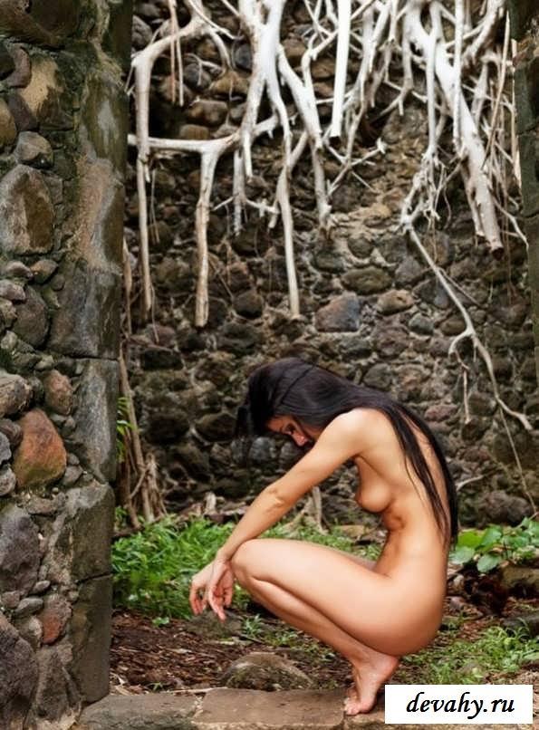 Сексуальная попа голой красотки (15 фото эротики)