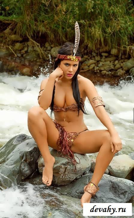 В гостях у голого племени  Эротика фото Смотреть как