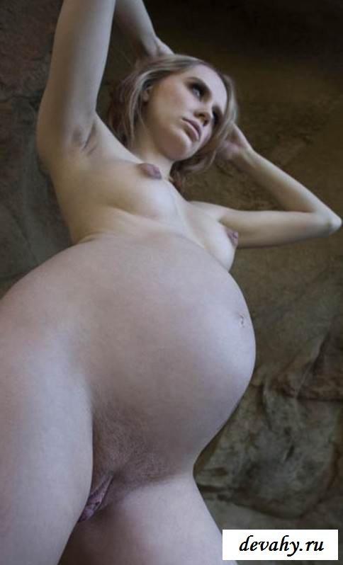 Здоровенная пизда эротичной девчонки в пещере (16 фото эротики)