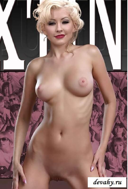 Порнография певицы  Christina Aguilera (обнаженка)