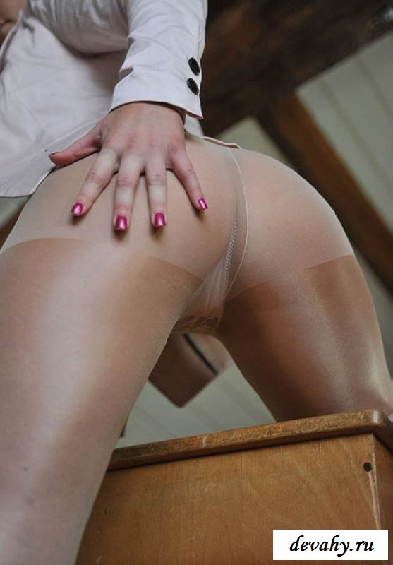 Стриженные ножки симпатичной учительницы (15 фото эротики)