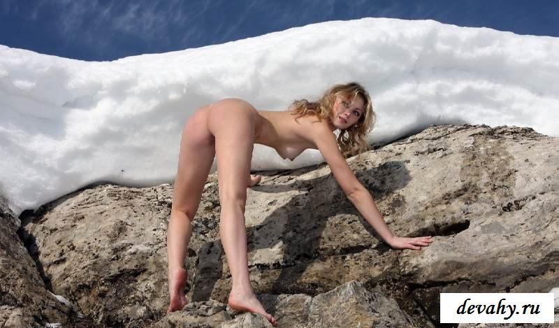 Холодная попка обнаженной дурочки (16 картинок в галерее)