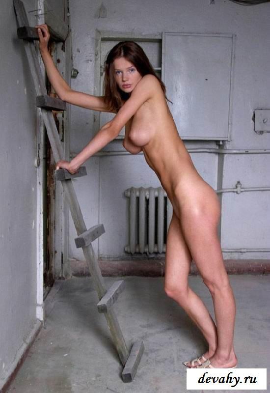 Депилированный лобок эротической бестии (15 фото эротики)
