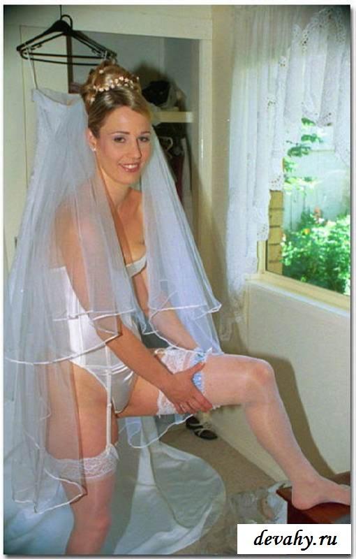 Невесты с радостью показывают сиськи (15 фото эротики)