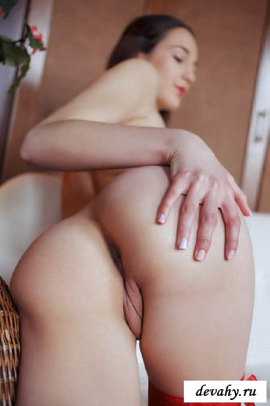 Голый станок девчонки выставленный рачком (15 фото эротики)