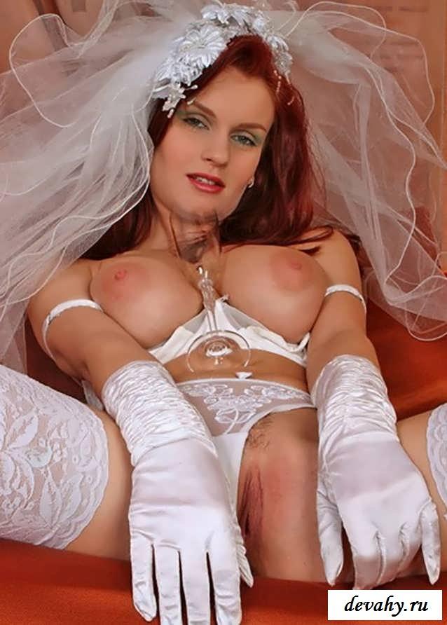 Пилотка обнаженной супруги в свадебном наряде  (Пятнадцать эро фото) смотреть эротику
