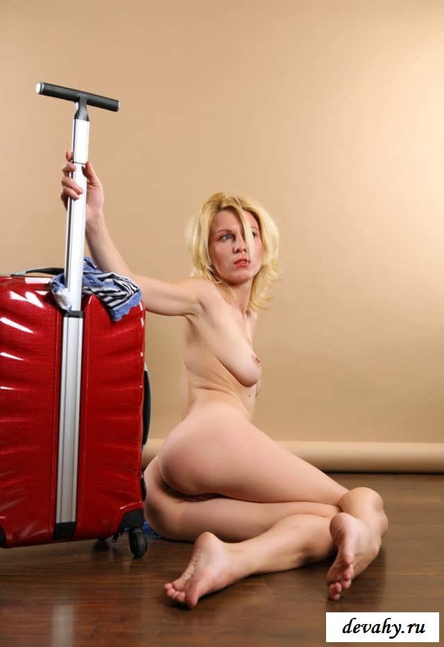 Голая писька жены на чемодане (16 фоток для взрослых)