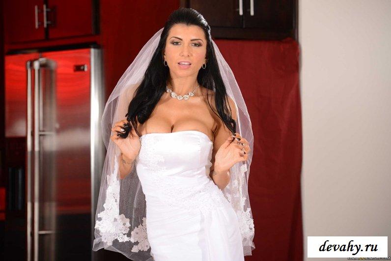 Вульгарное представление от невесты