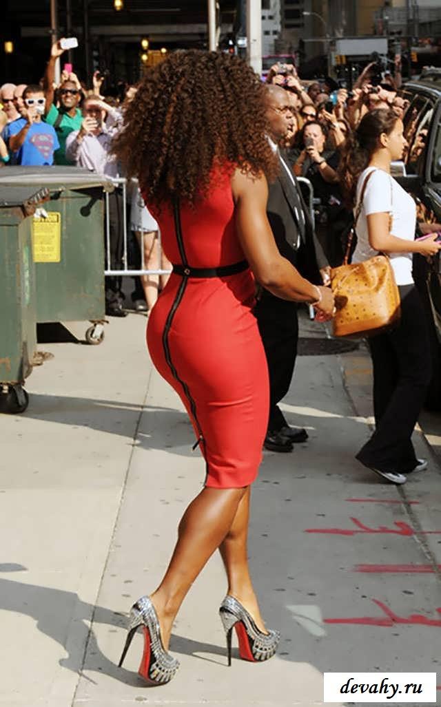 Голая   Serena Williams (Серена Уильямс) (17 фото эротики) секс фото