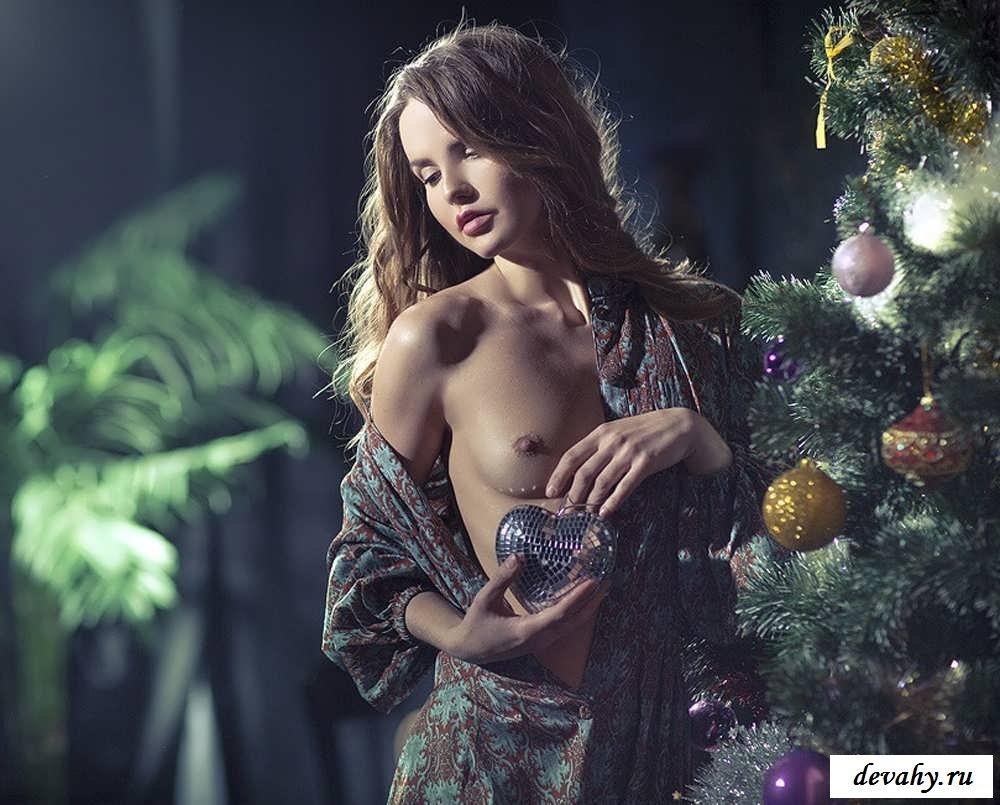 решила рождественские эротические фото женские