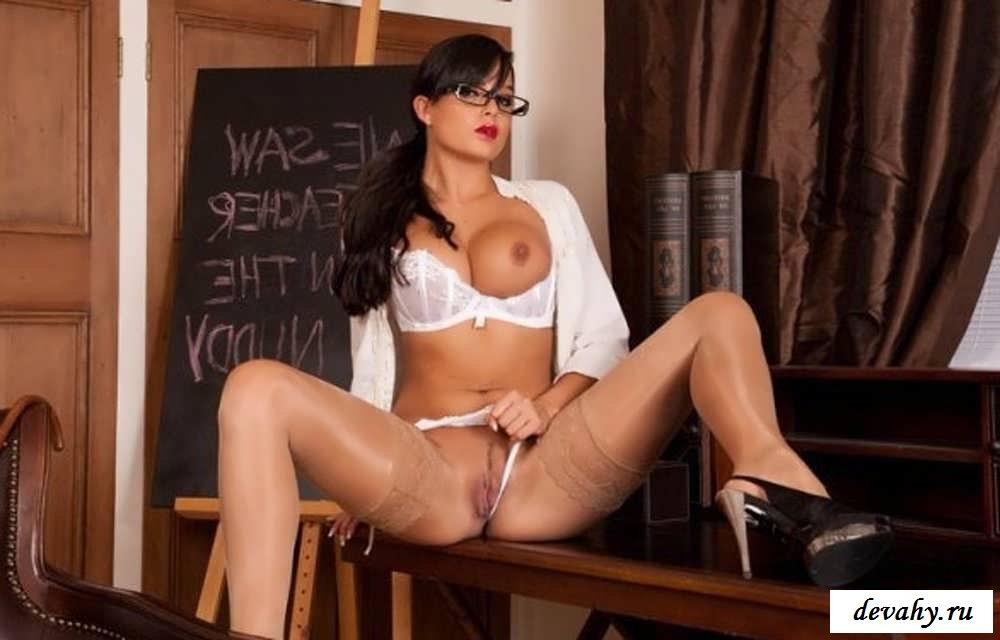 Классные сиськи сексуальных училок (15 фото эротики)