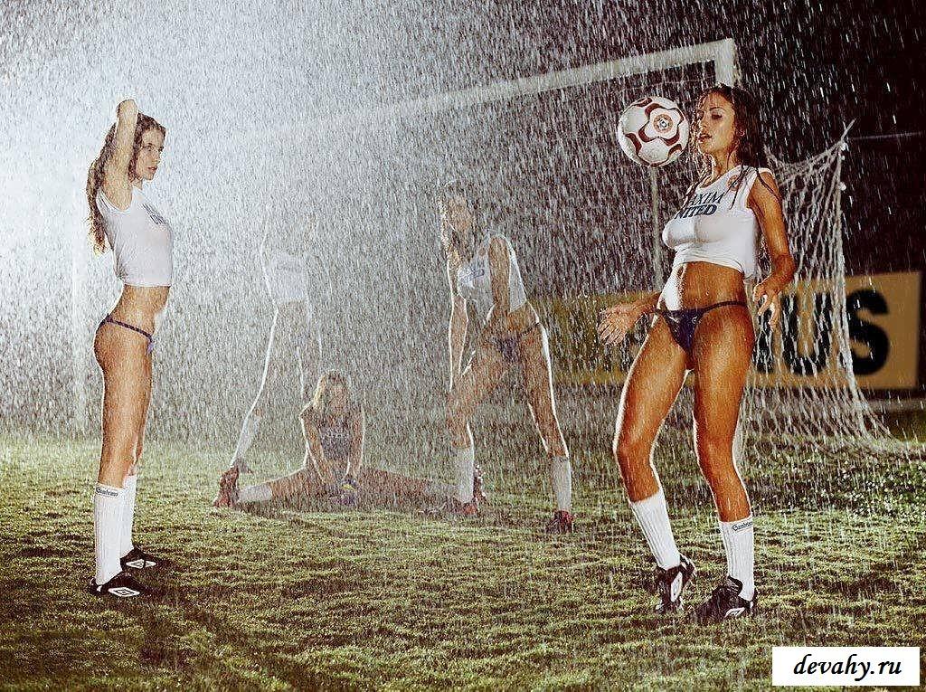 Грациозные тела соблазнительных спортсменок (16 пошлых изображений)