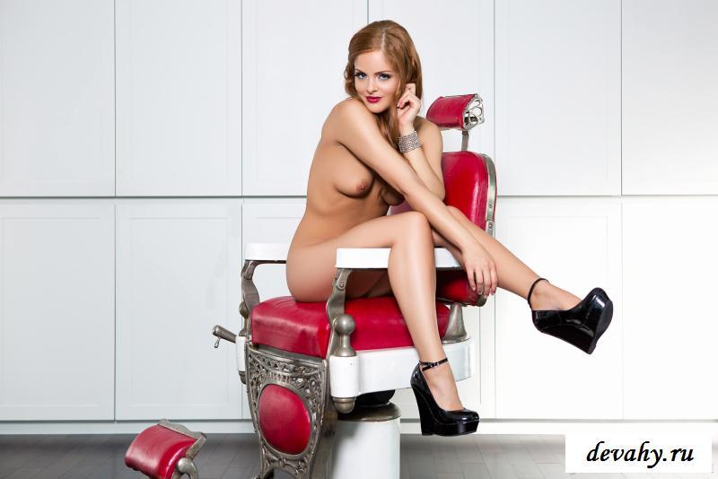 Эротика гламурного мастера на кресле