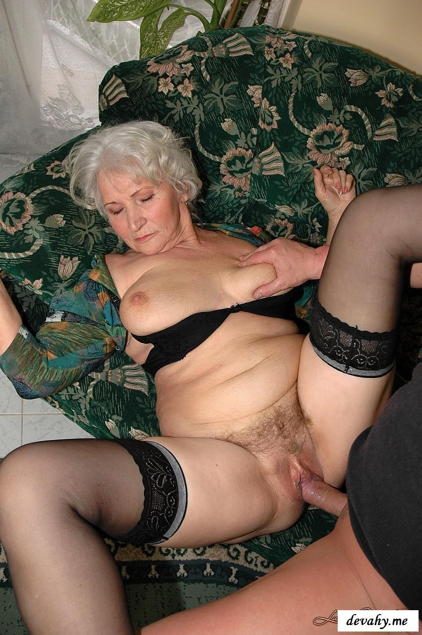 Пожилая жена порно